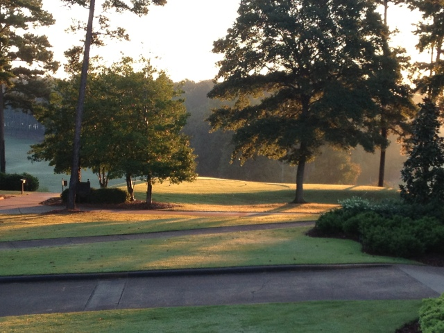 Early morning at Grand National